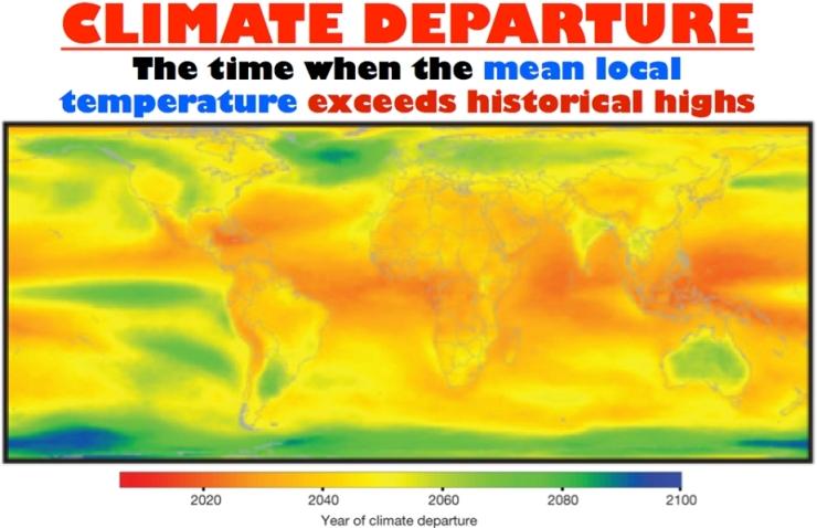 Climate Departure - Nature