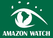 Amazon Watch logo. An eye with the globe as the eyeball.