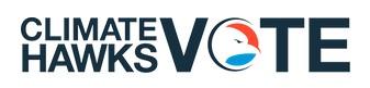 Climate Hawks Vote logo banner