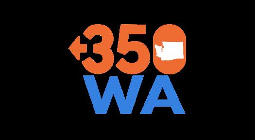 350.org Washington logo.