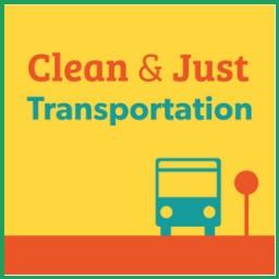 Clean & Just Transportation logo