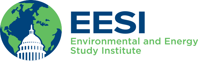 EESI. Environmental and Energy Study Institute. Globe and capitol dome.