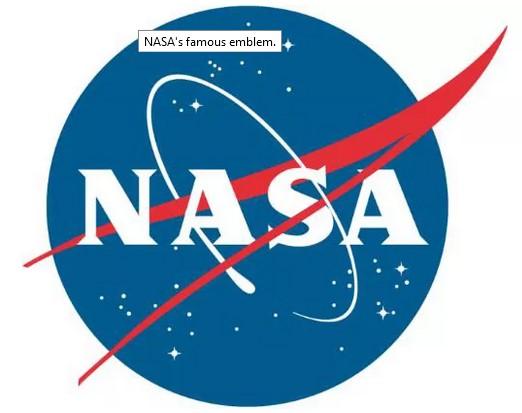 NASA logo.