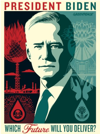 President Biden Poster. Which Future will YOu Deliver?