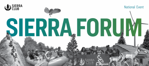 Sierra Forum National Event. Showing outdoor activity fun.
