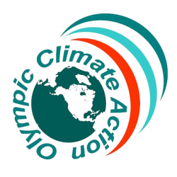 Olympic Climate Action logo