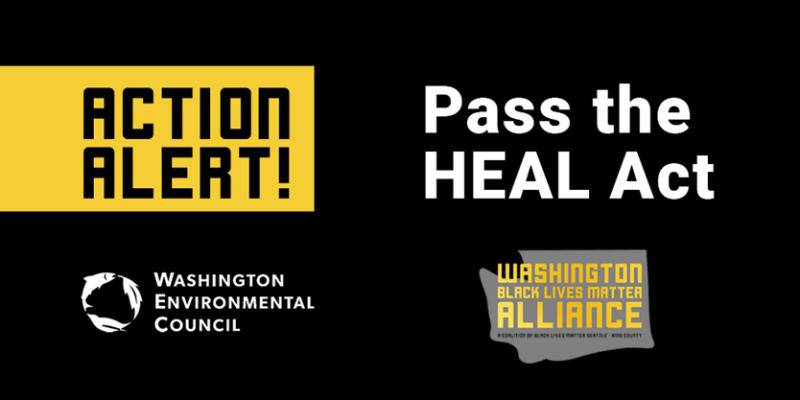 Pass the HEAL Act. Action Allert!