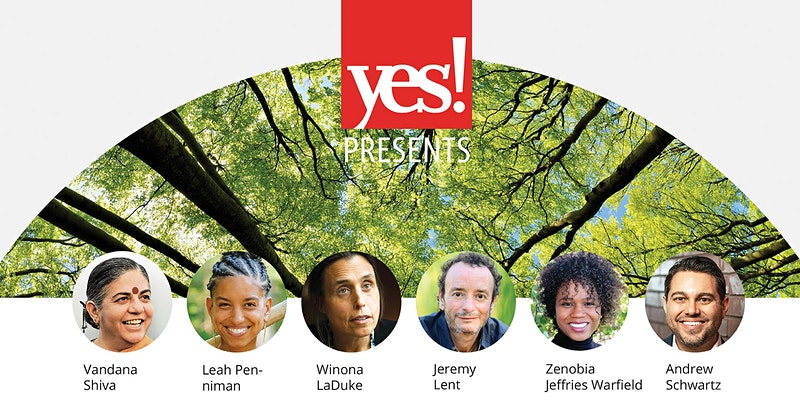 Yes webinar. An Ecological Civilization: The Path We're On.