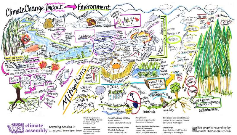 WCA Climate Change Impact on the Environment Notes