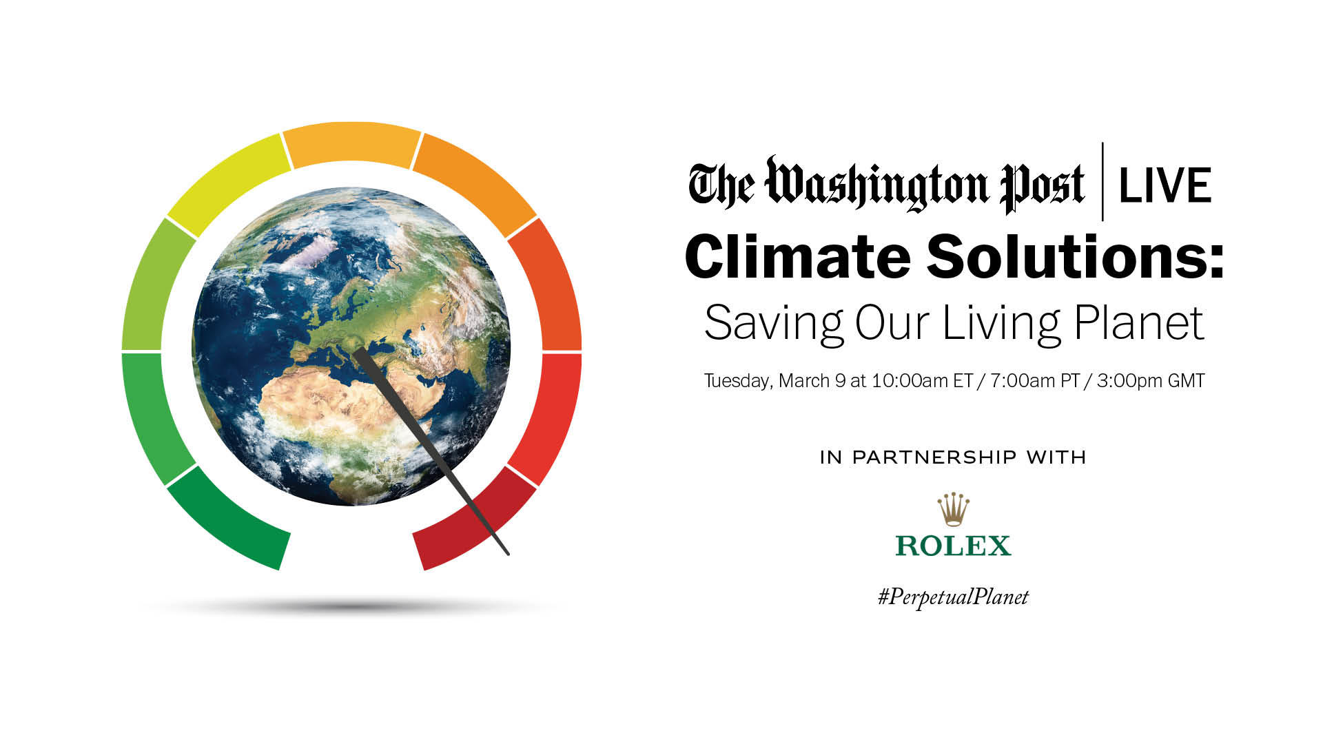 Saving our Living Planet webinar. March 9 at 7 pm.