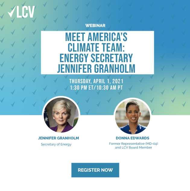 meet America's Climate Team. April 1, 10:30 PT. Click to Register.