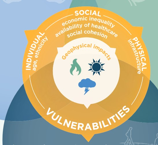 Vulnerabilities by type. Individual, Social and Physical.