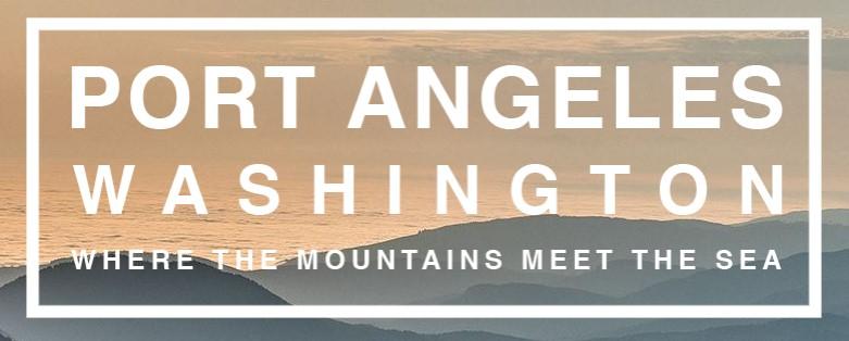 Port Anteles, Washington. Where the Mountains Meet the Sea.