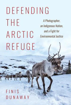 Book - Defending the Arctic Refuge. Arctic ruminating quadrupeds near the camera.