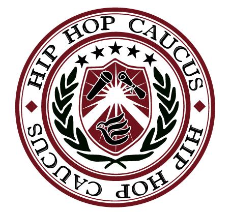 Hip Hop Caucus logo and banner.