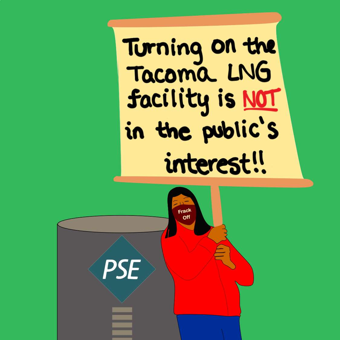 Turning on the Tacoma LNG facility is NOT in the public's interest!!