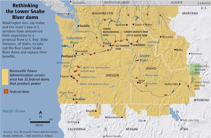 2021.Lower-Snake-Dams-ST.Map of Washington & Idaho.