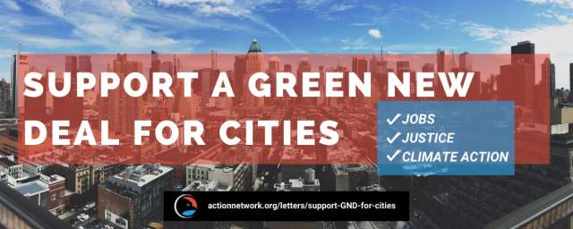 Fact Sheet: Green New Deal for Cities. Jobs, Justice, Climate Action.