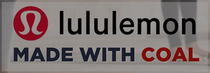 Lululemon Made with Coal