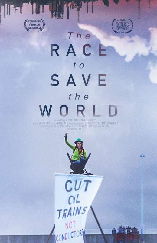 Film poster-Race to Save the World.