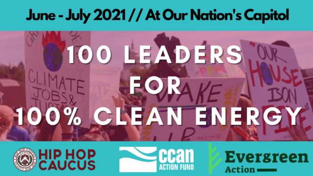 Earth Bill-100 Leaders for 100% Clean Energy
