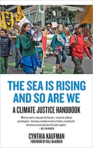 Book cover-The Sea is Rising and So Are We