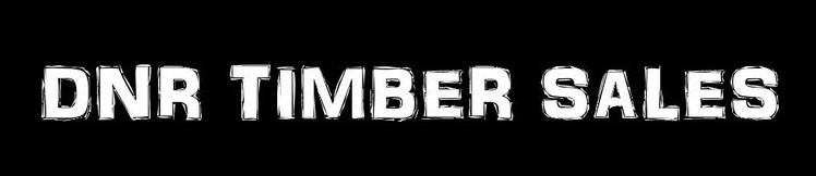 DNR Timber Sales