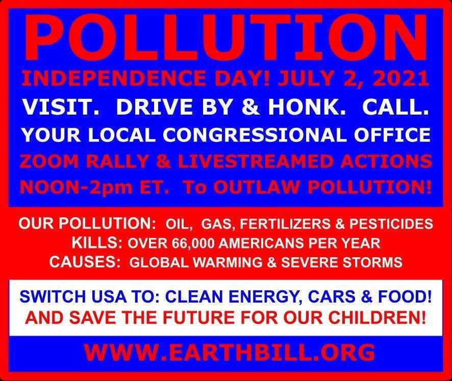 Earth Bill Pledge