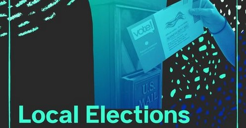 Local Elections. Mail ballot and mail drop.