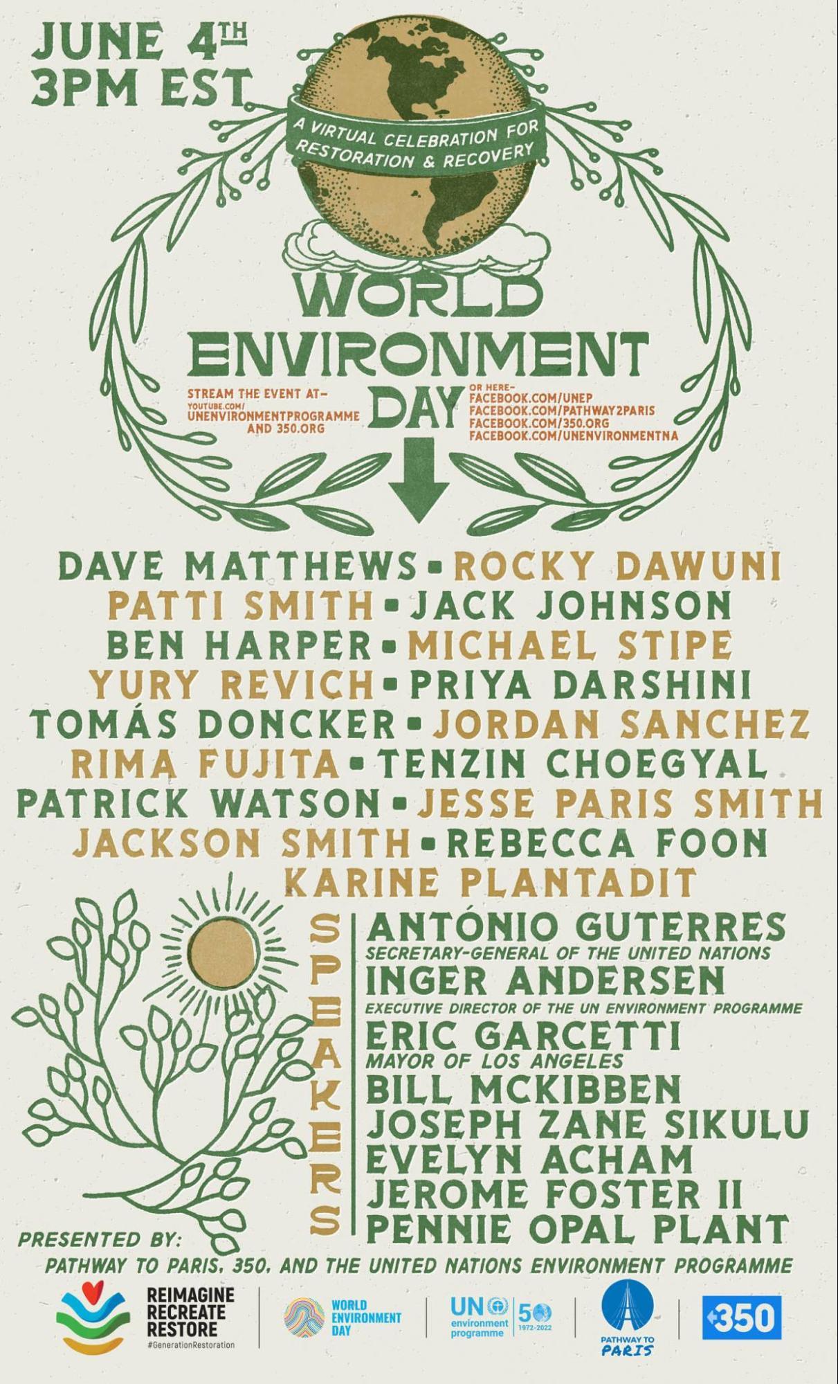 World Environment Day. 350.org