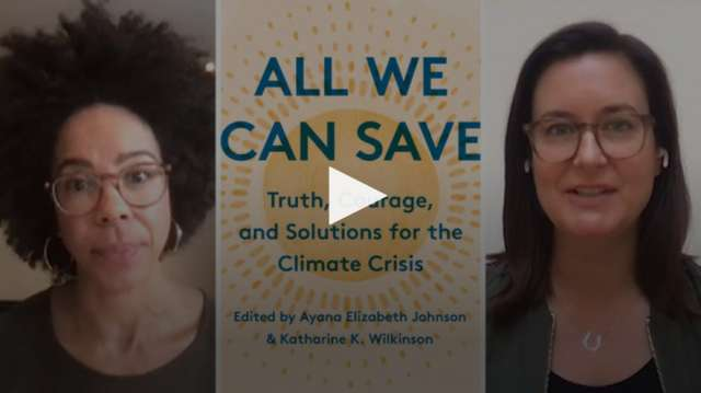 Book, All We Can Save