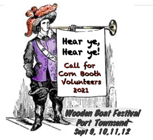 Call for Corn Booth Volunteers 2021