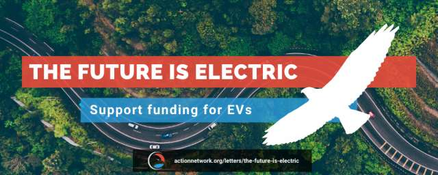The Future is Electric - Speak out now for EV charging.