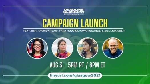 Glasgow Campaign Launch guest list.