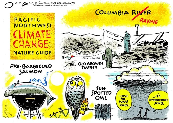 Pacific Northwest Climate Change Nature Guide - Humor?