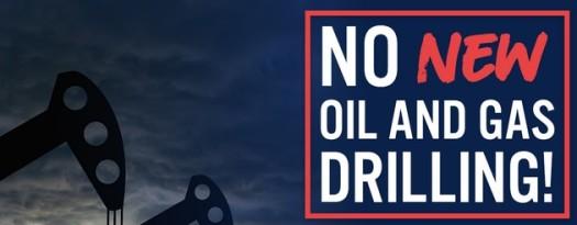 No New Oil Drilling