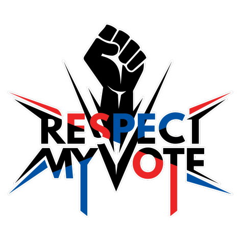 Respect My Vote logo-Fist-Logo-outline
