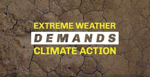 Extreme Weather DEMANDS Climate Action