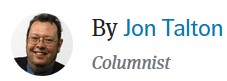 Jon Talton, Columnist - Photo and name.
