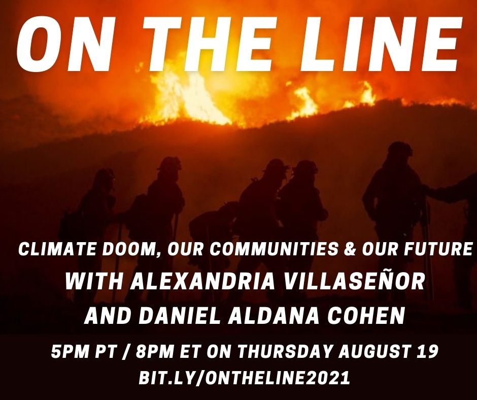 On the Line webinar - August 19 | 5 pm PT