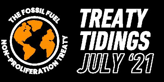 Treaty Tidings July 21 banner