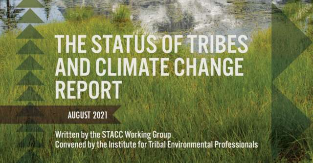 Status of Tribes and Climate Change (STACC) Report Summary