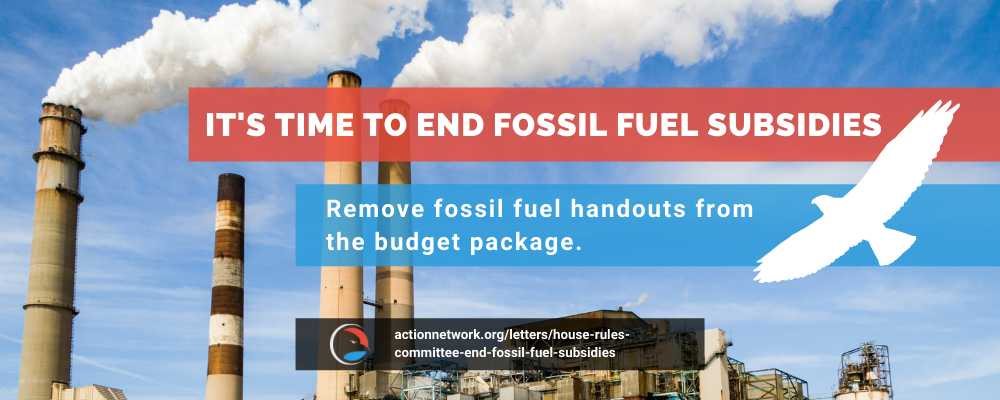 House Rules Committee: End Fossil Fuel Subsidies!