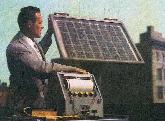 First Solar Array