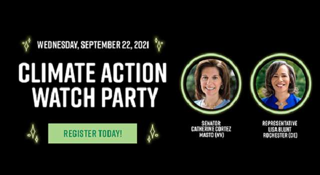 LCV's Climate Action Watch Party - On Wednesday, September 22, 2021