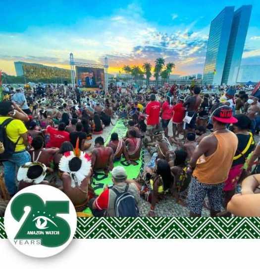 Struggle for Life Camp in Brazil