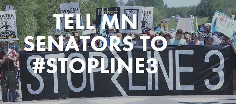 Tell MN Senators Stop Line 3