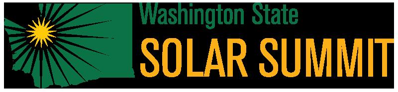 Washington State Solar Summit logo
