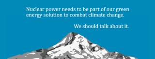 Nuclear power needs to be part of our green energy solution to combat climate change. We should talk about it.