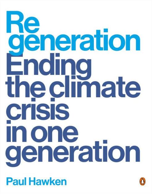 Book Cover - Regeneration by Paul Hawken